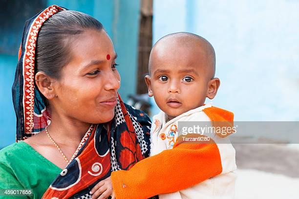 mother and son - bangladesh mother stock pictures, royalty-free photos & images