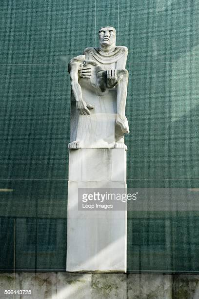 Mother and son sculpture by Sir jacob Epstein in Congress House