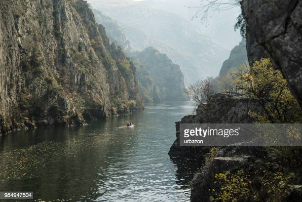 matka canyon - skopje stock pictures, royalty-free photos & images