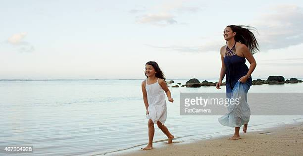 Mother & Daughter on Vacation