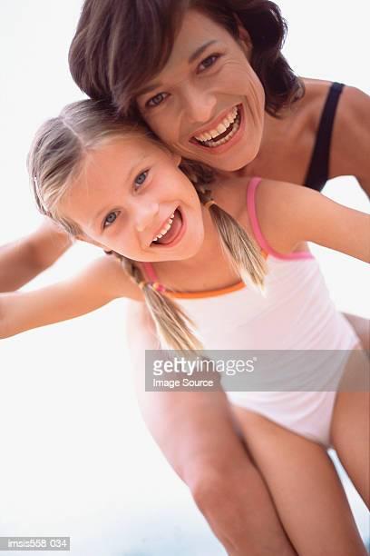 Mother daughter swimwear