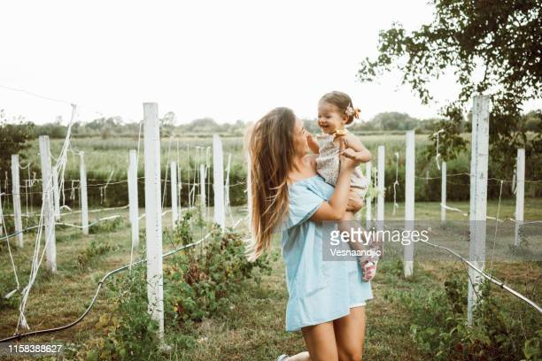 mother daughter time - marthas vineyard stock pictures, royalty-free photos & images