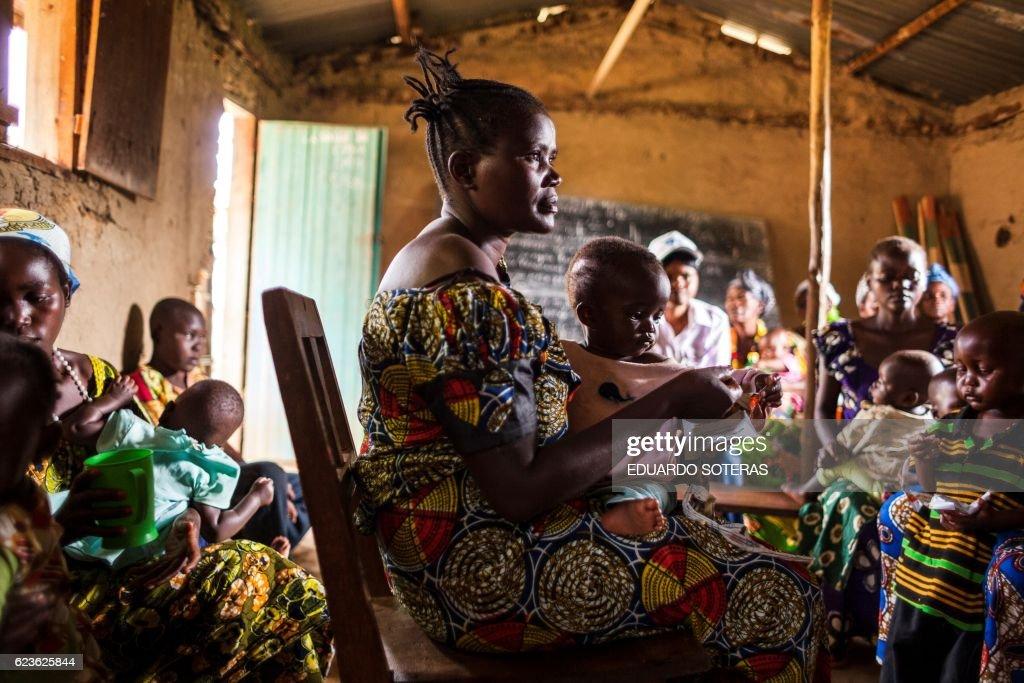 DRCONGO-HEALTH-NUTRITION : News Photo