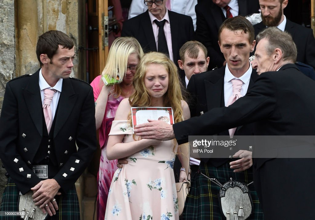 Funeral Takes Place Of Murdered Schoolgirl, Alesha McPhail