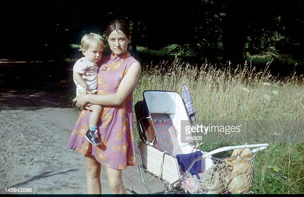 mother holding baby - east germany stock pictures, royalty-free photos & images