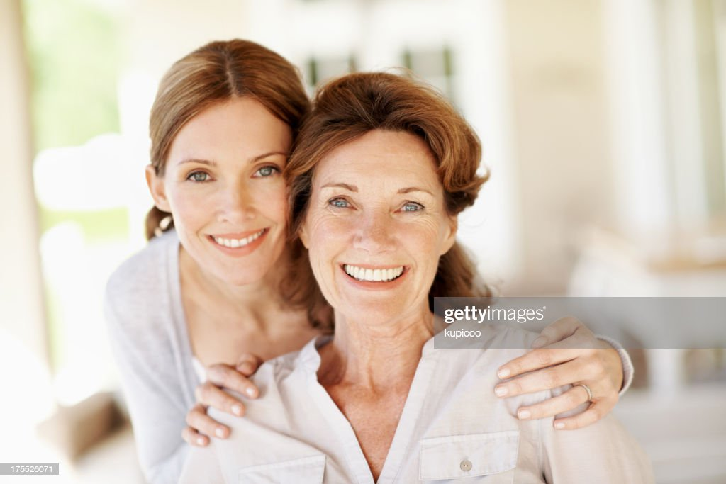 Mother like daughter... : Stock Photo