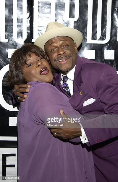 Mother Love and Michael Colyar during Hollywood Black Film Festival '2 Fast 2 Furious' Premiere Arrivals at Harmony Gold Preview House in Hollywood...