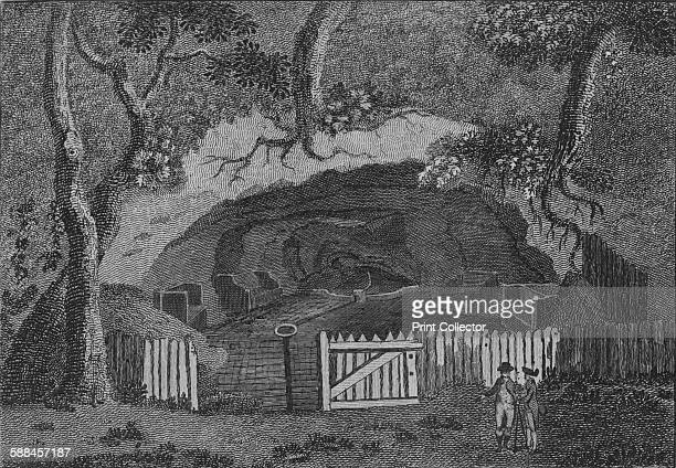 Mother Ludham's Hole near Farnham in Surrey' 1786 Mother Ludlam's Cave also known as Mother Ludlum's Hole is a small cave in the sandstone cliff of...