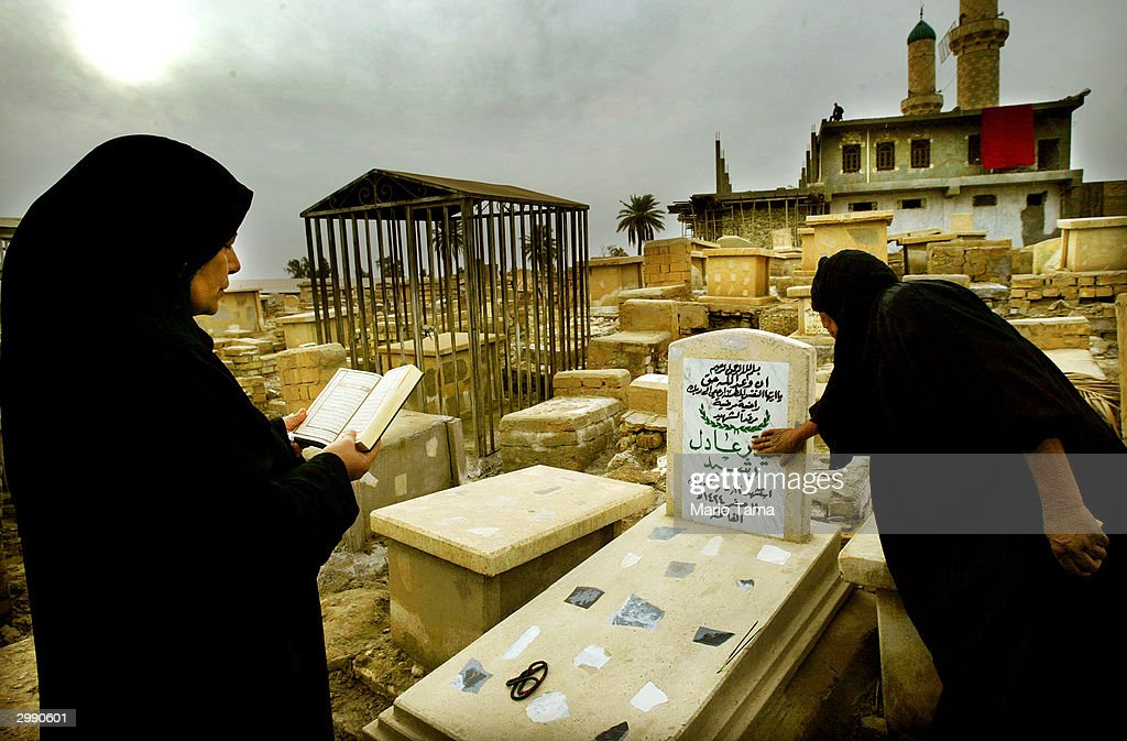 Shia Baby Cemetery in Baghdad : News Photo