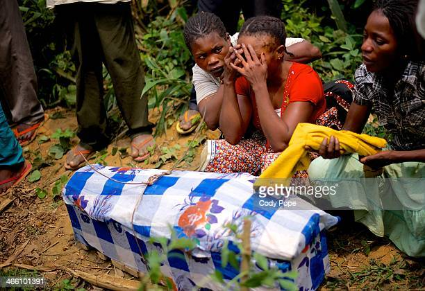 CONTENT] A mother mourns the loss of her four year old daughter She died from complications due to diarrhea in equatorial Congo