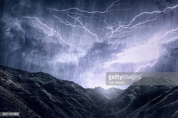 mother nature unleashes her rage - storm cloud stock pictures, royalty-free photos & images