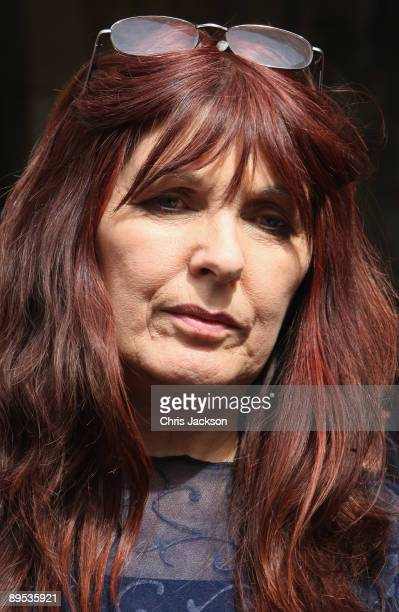Mother of British hacker Gary McKinnon gives a statement outside the Royal Courts of Justice on July 31 2009 in London England The hacker today lost...