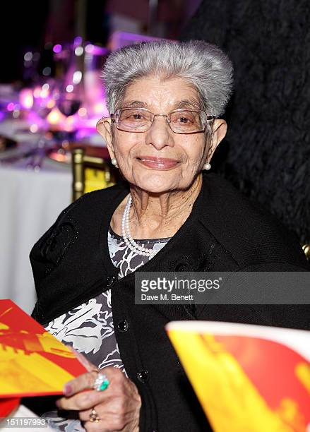 Mother of Freddie Mercury Jer Bulsara attends the second annual Freddie For A Day event in memory of Queen's late frontman Freddie Mercury at The...