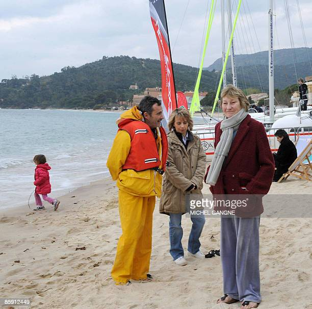 Mother of French first lady Carla BruniSarkozy Marisa BruniTedeschi attends the first edition of the Virginio BruniTedeschi sailing trophy a...