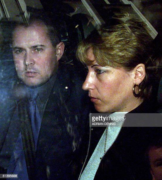 Mother of murdered toddler James Bulger Denise Fergus and husband Stuart Fergus leave the Royal Court of Justice after the decision in the murder...