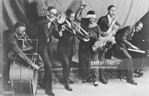 Mother of the Blues Ma Rainey and her band the Rabbit Foot Minstrels with Ed Pollock Albert Wynn Thomas A Dorsey Ma Rainey Dave Nelson and Gabriel...