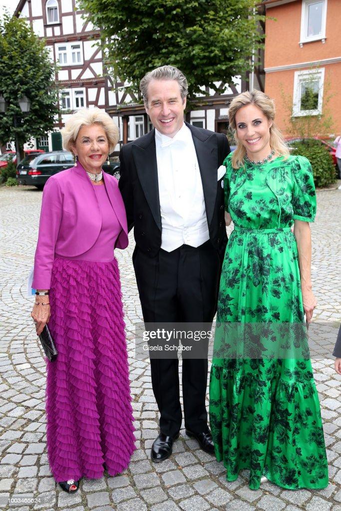 Wedding Of Princess Theodora Sayn-Wittgenstein and Earl Nikolaus Bethlen de Bethlen In Bad Laasphe : News Photo