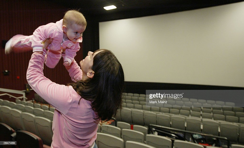 Reel Moms and Babies See Movies In New York  : News Photo
