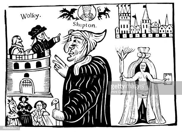 Mother Shipton English witch and prophetess prophesying the death of Cardinal Wolsey Ursula Sonthiel Shipton lived in Yorkshire and told fortunes and...