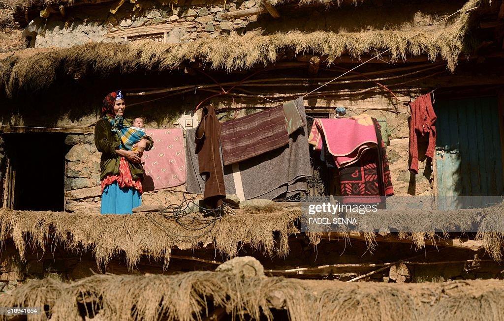 MOROCCO-MOUNTAINS-SOCIAL : News Photo