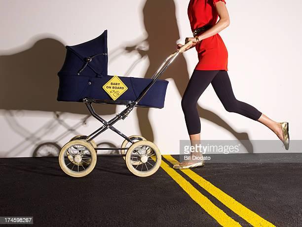 Mother & Stroller