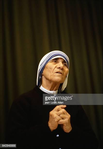 Mother Teresa in Norway.