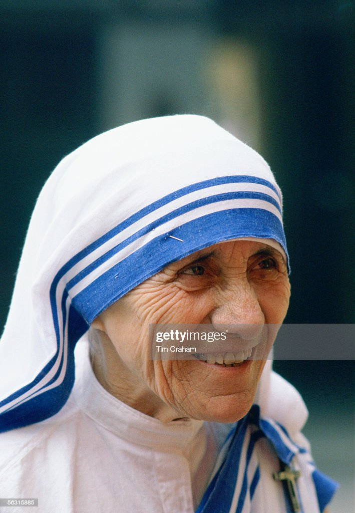 Mother Teresa, Calcutta, India : News Photo