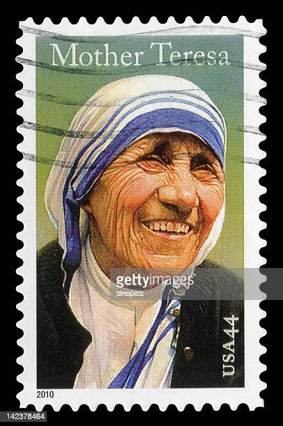 mother teresa (xxlarge) - famous people stock photos and pictures