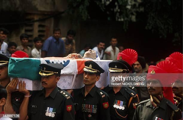 Mother Teresa 's Funerals In Calcutta, India On September 13, 1997.