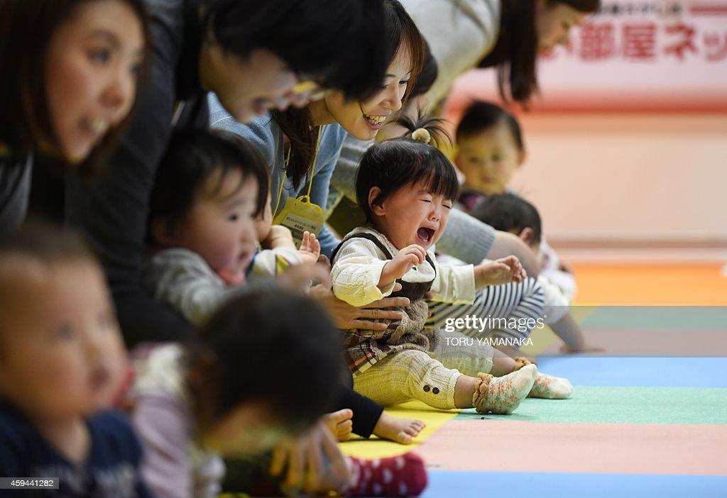 JAPAN-LIFESTYLE-FAMILY-CHILDREN : News Photo