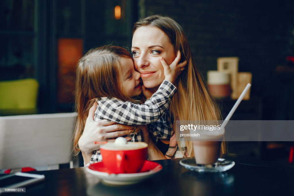 mother with daughter : Stock Photo
