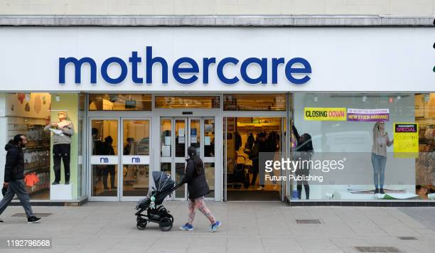 KINGDOM JANUARY 10 2020 Mothercare store in Wood Green closes down PHOTOGRAPH BY Matthew Chattle / Barcroft Media