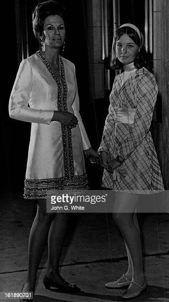 FEB 26 1970 FEB 27 1970 MotherDaughter Duo Arrive At Bonfils Mrs Thomas Cosgriff II and her 16yearold daughter Shauna attended Thursday opening of...
