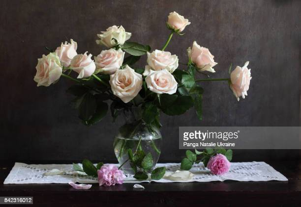 Mother-of-pearl Roses