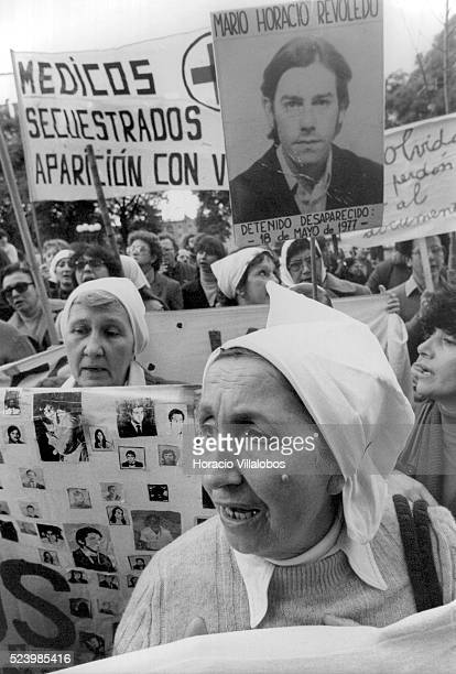 Mothers and relatives of those gone missing during Argentina's Dirty War stage a protest at the Plaza de Mayo in 1982 A 1976 coup resulted in a 7year...