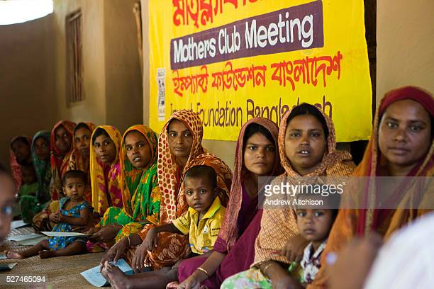 A Mothers Club meeting in Gobindohuda village receives nutrition training from an employee of IFB meetings There are around 900 mothers clubs in the...