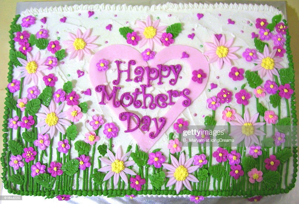 Mothers day cake : Stock Photo