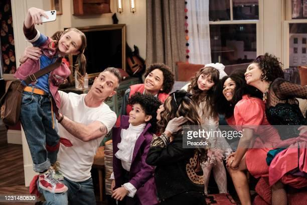 "Mother's Day"" Episode 110 -- Pictured: Quinn Copeland as Izzy, Freddie Prinze Jr. As Travis, Oliver De Los Santos as Daniel, Noah Cottrell as Diego,..."
