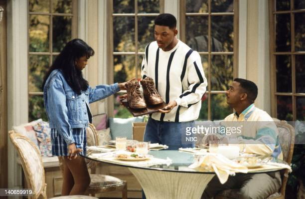 AIR THE Mother's Day Episode 23 Pictured Tatyana Ali as Ashley Banks Will Smith as William 'Will' Smith Alfonso Ribeiro as Carlton Banks Photo by...