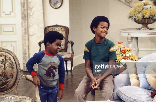 """Mother's Last Visit"""" Episode 3 -- Pictured: Gary Coleman as Arnold Jackson, Todd Bridges as Willis Jackson -- Photo by: Ron Tom/NBC/NBCU Photo Bank"""