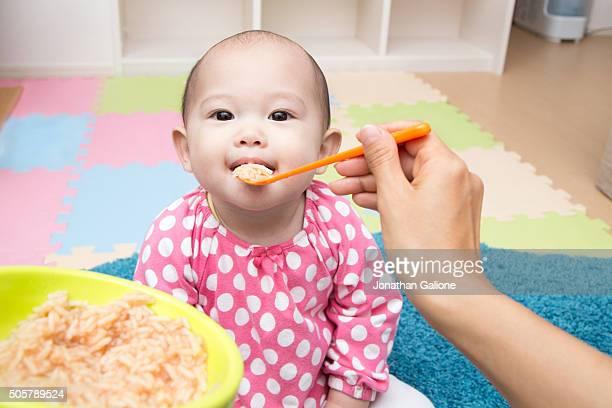 Mother's POV whilst feeding baby