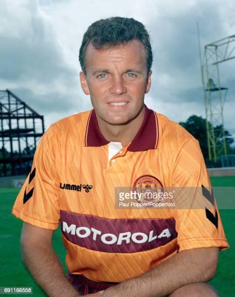 Motherwell and Scotland footballer Davie Cooper circa August 1989