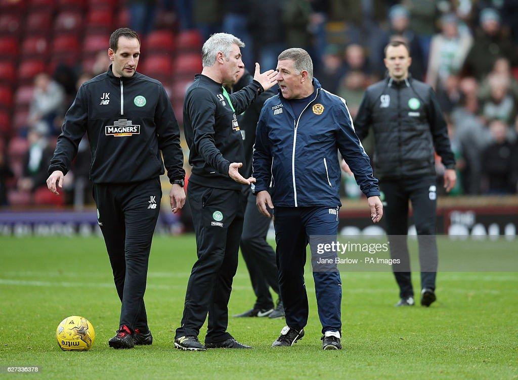 Motherwell v Celtic - Ladbrokes Scottish Premiership - Fir Park : News Photo