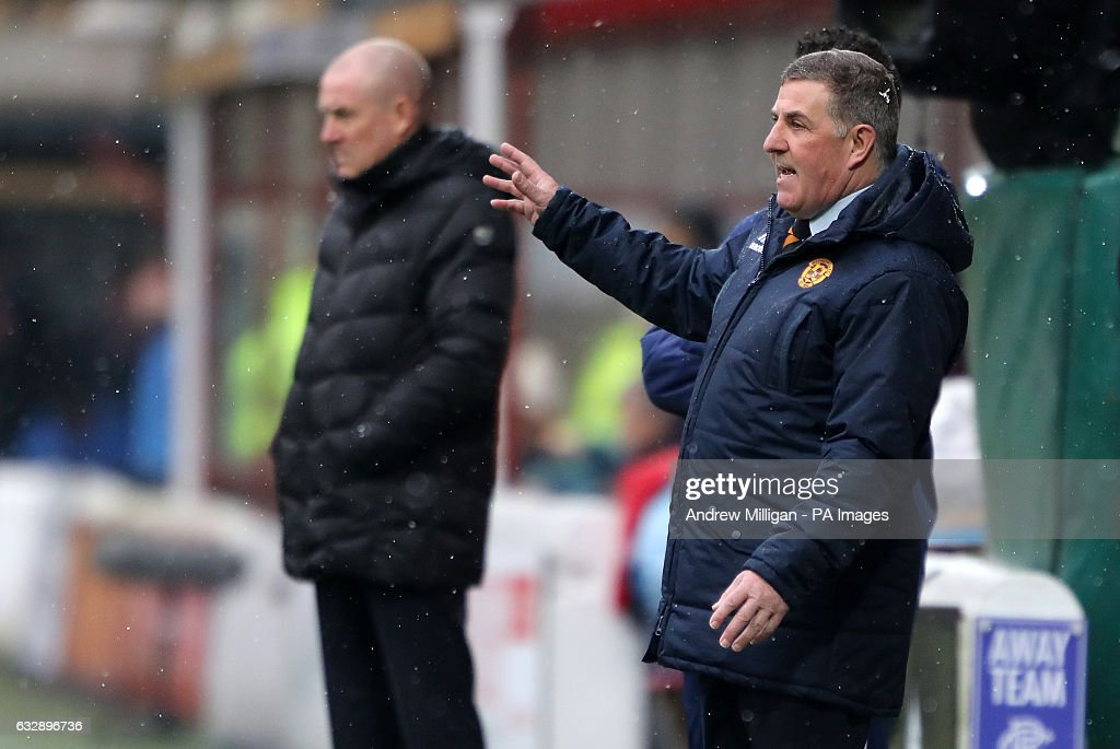 Motherwell v Rangers - Ladbrokes Scottish Premiership - Fir Park : News Photo