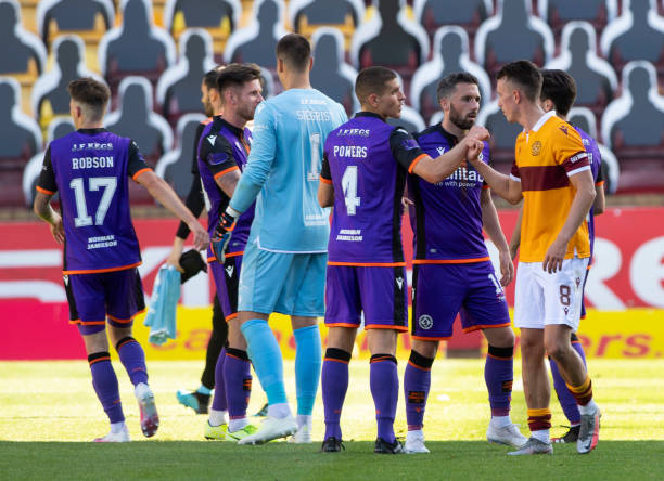 GBR: Motherwell v Dundee United - Ladbrokes Scottish Premiership