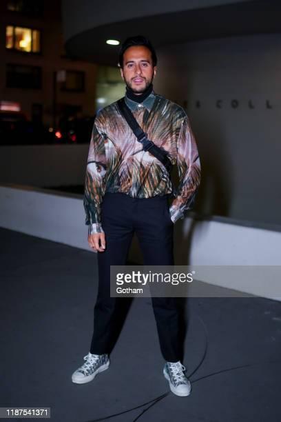 Moti Ankari attends the 2019 Guggenheim International Gala on November 13 2019 in New York City
