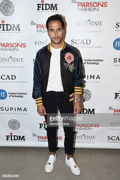Moti Ankari attends the Supima Design Competition 2016 during New York Fashion Week September 2016 at The Gallery Skylight at Clarkson Sq on...
