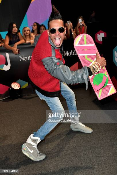 Motiff attends the Univision's 'Premios Juventud' 2017 Celebrates The Hottest Musical Artists And Young Latinos ChangeMakers at Watsco Center on July...