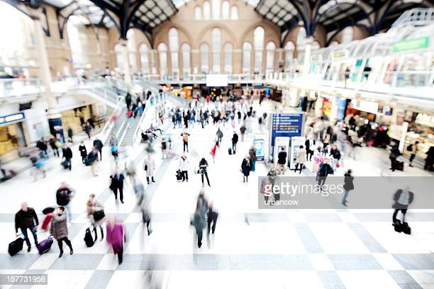 Motion at Liverpool Street Station