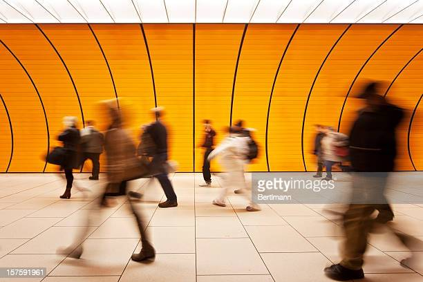 motion blurred people - fast fashion stock pictures, royalty-free photos & images
